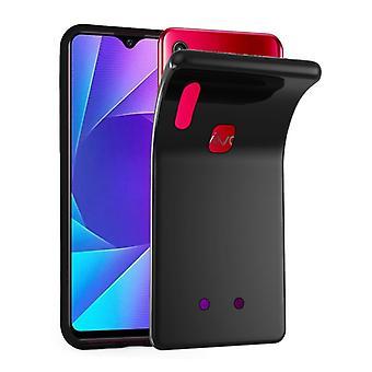 Cadorabo tapauksessa Vivo Y95 tapauksessa tapauksessa kansi - matkapuhelin tapauksessa joustava TPU silikoni - silikoni tapauksessa suojakansi Ultra Slim Soft Takakannen tapauksessa Puskurin