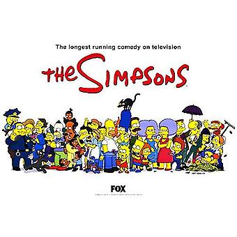 The Simpsons (Single Sided The Longest Running Comedy) Affiche TV originale