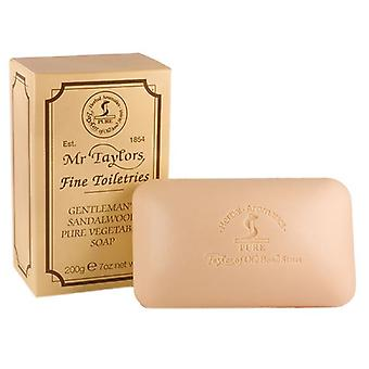 Taylor of Old Bond Street Sandalwood Pure Vegetable Bath Soap 200g