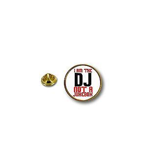 Pine Pines badge PIN-apos; s metal biker biker DJ ikke Jukebox taske