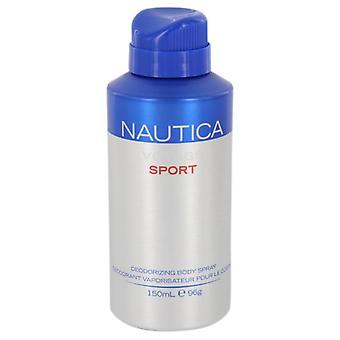 Nautica voyage sport body spray by nautica 541199 150 ml