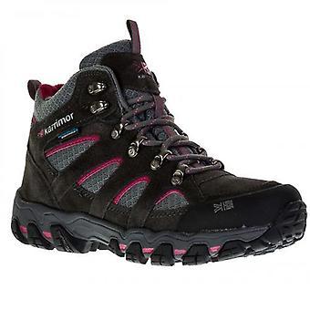 Senhoras Karrimor Bodmin V Weathertite mid Rise impermeáveis sapatos de caminhada