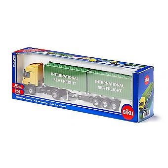 Siku Super Truck With Sea Freight Containers  1:50  3921