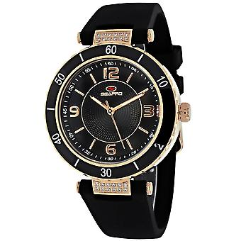 Seapro Women's Seductive Black Dial Watch - SP6414