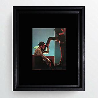 "Jack Vettriano Framed Print Erotic Wall 5 Designs Art Black Mount Hoxton 12x10"""