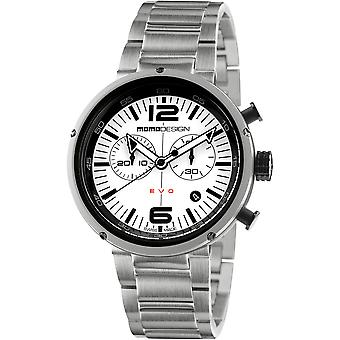 MOMO Design EVO Watch MD1012BS-20 - Stainless Steel Gents Quartz Chronograph