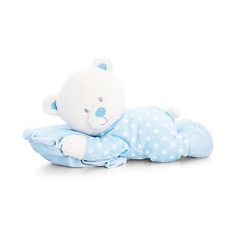 竜骨の玩具赤ちゃん 30 cm 枕ぬいぐるみのクマを青