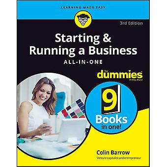 Starting and Running a Business AllinOne For Dummies by Colin Barrow