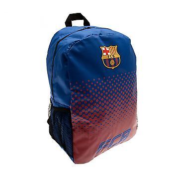 FC Barcelona Fade Design Backpack With Mesh Side Pockets