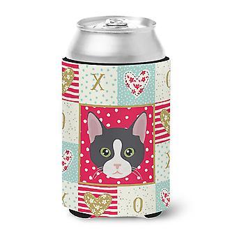 Carolines Treasures  CK5081CC American Polydactyl Cat Love Can or Bottle Hugger