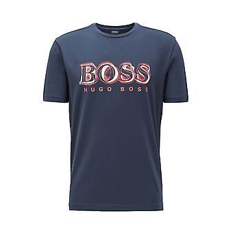 BOSS Athleisure Boss Tee 4 T Shirt Navy