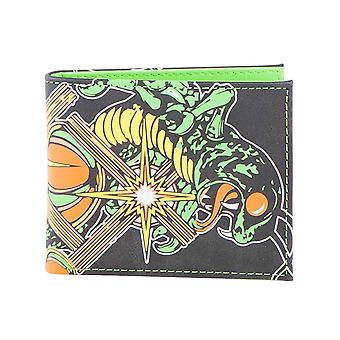 Centipede Wallet Logo new Official Atari Gamer Black Bifold