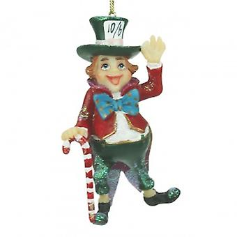 Gisela Graham Mad Hatter Christmas Decoration