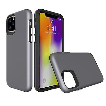 For iPhone 11 Pro Case, Shockproof Protective Strong Cover Grey