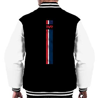 TVR Logo Stripes Men's Varsity Jacket