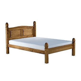 135CM CORONA LOW END BED PINE