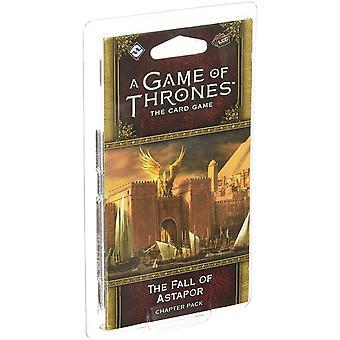 Een spel van tronen het kaartspel tweede editie de val van Astapor