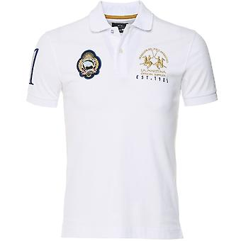 La Martina Slim Fit Argentina Polo Shirt