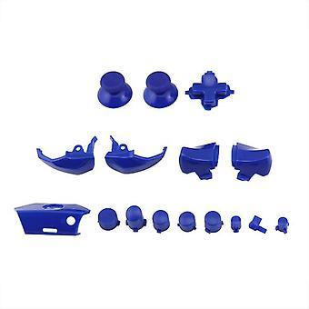 Button set for xbox one microsoft controller full replacement - blue | zedlabz
