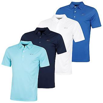 Greg Norman Mens 2020 Protek ML75 Microlux 2Below Golf Polo Shirt