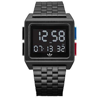 Adidas archive_m1 Quartz digital man Watch med rustfrit stål armbånd Z013042-00