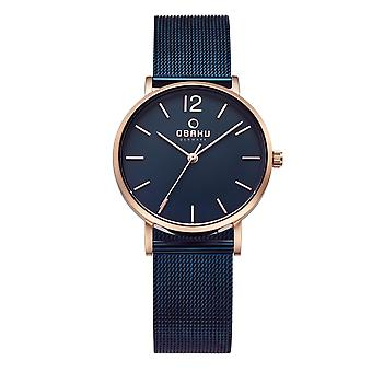 Obaku Mark Lille Ocean Women's Wristwatch V197LXVLML