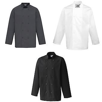 Premier Unisex Chefs Jacket (Pack of 2)