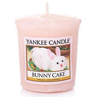 Gâteau de lapin de lapin de votif de bougie de yankee