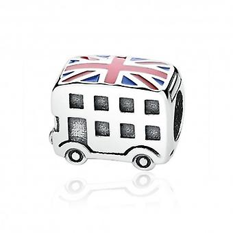 Sterling Silver Charm London Bus - 5259
