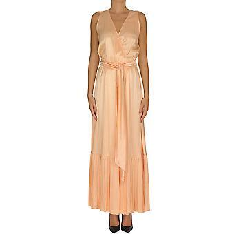 Aniye By Ezgl252022 Women's Orange Viscose Dress