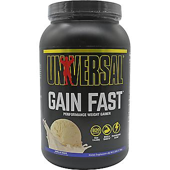 Supplément alimentaire universel gain nutrition rapide - 5 portions - Vanilla Shake
