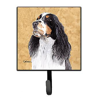 Carolines Treasures  SC9134SH4 Springer Spaniel Leash Holder or Key Hook