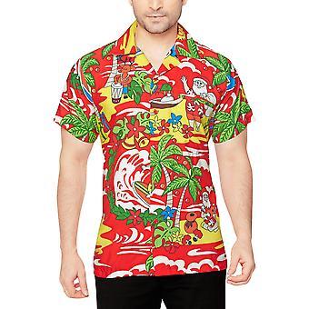 Club cubana men's regular fit classic short sleeve casual shirt ccx27