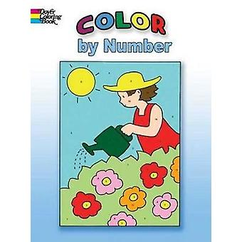 Color by Number by Winky Adam - 9780486453439 Book