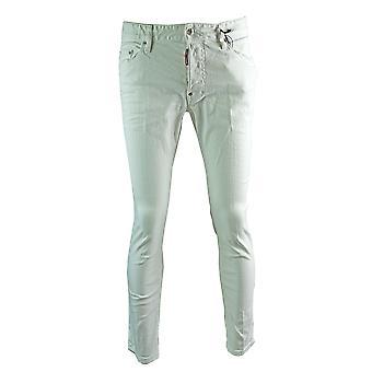 Dsquared2 Skater Jean White Skinny Jeans