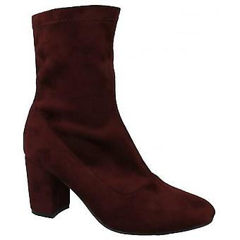 Anne Michelle Womens/Ladies Pull On Ankle Boots