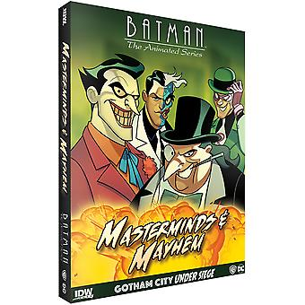 Batman Animated Gotham Under Seige Masterminds Mayhem Exp