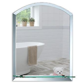 Specchio a parete ad arco 50 x 40cm & Demister