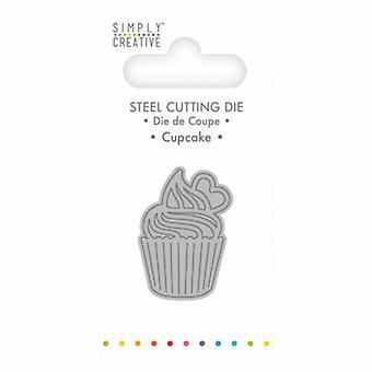 Simply Creative Mini Cutting Die - Cupcake