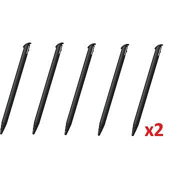 10x Black Touch Stylus Pen for - ̗̀new ̖́- Nintendo 3DS XL