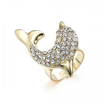 Intrige Frauen-Dolphin-Ring