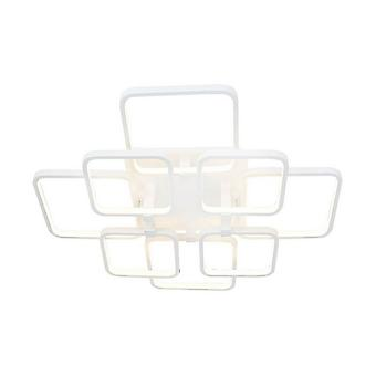 Lampe de plafond Plaza White Color Metal, Acrylique 66x66x12 cm