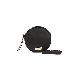 Black Pompei Donatella Women's Shoulder Bag