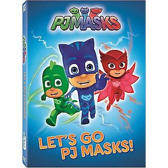 PJ naamarit: Mennään Pj naamarit [DVD] USA tuonti
