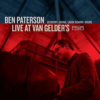 Ben Paterson - Live at Van Gelder's [CD] USA import