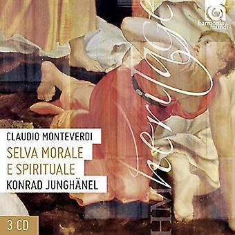 Monteverdi / Junghanel / Cantus Colln - Selva Morale [CD] USA import