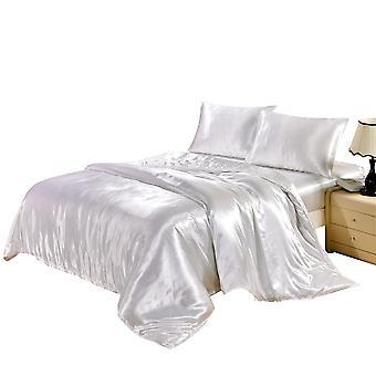 YANGFAN Imitate Silk Solid Color Duvet Cover Quilt