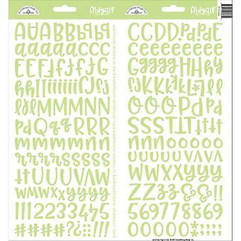 Doodlebug Design Limeade Abigail Tarrat
