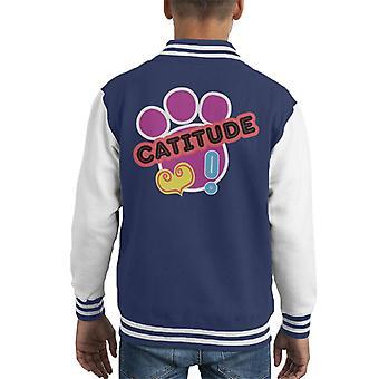 Littlest Pet Shop Catitude Kid's Varsity Jacket