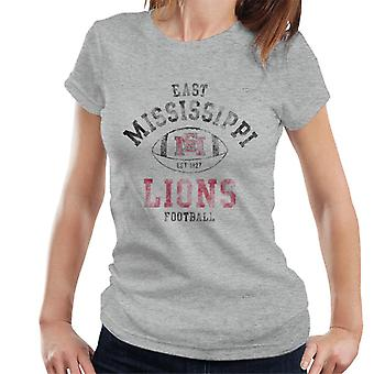 East Mississippi Community College Lions Football Women's T-Shirt
